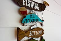 Fishing is a tough job but I can tackle it!!!