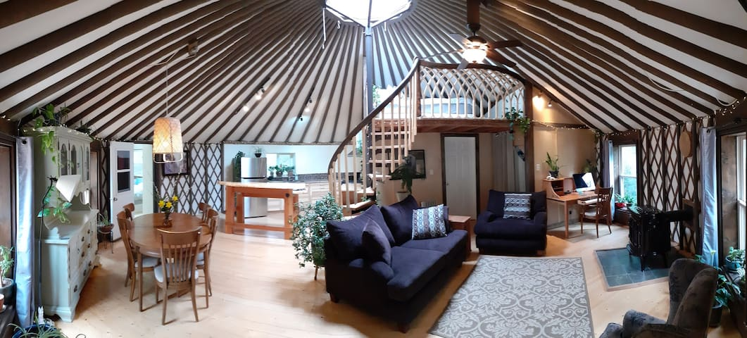 The Rainforest Yurt - An Elven Sanctuary