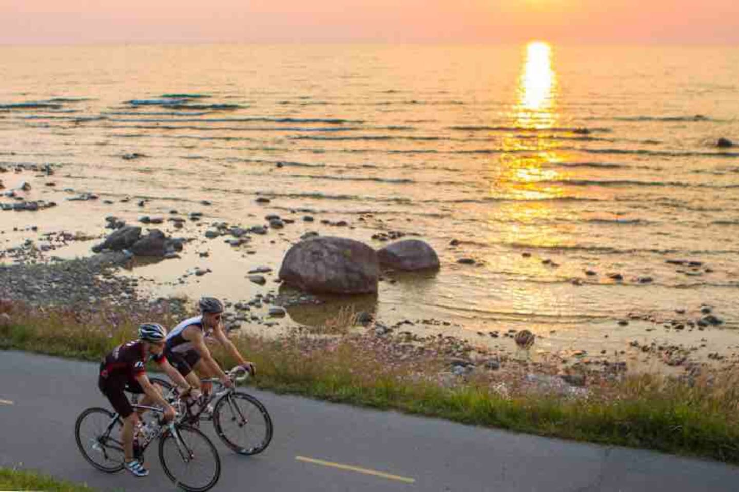 Bike rentals are available, so take advantage of the Saugeen Rail Trail stretching 8km from Southampton to Port Elgin and the Gore Drain Trail that connects to McGregor Point. Both trails add up to 30km.  Image courtesy of Explore the Bruce.