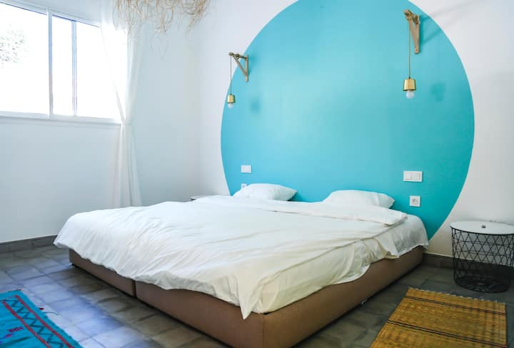 ALOHA double/triple room - Beach House Bouznika