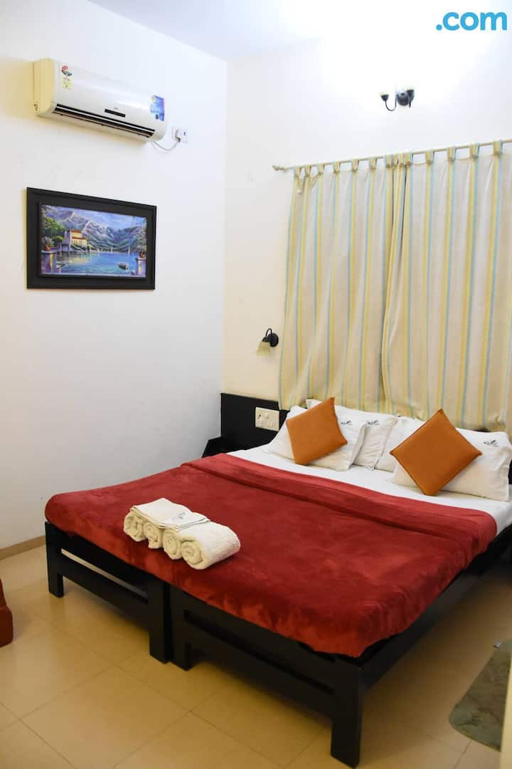 Deluxe Ac Room at The Mango Villa Ratnagiri