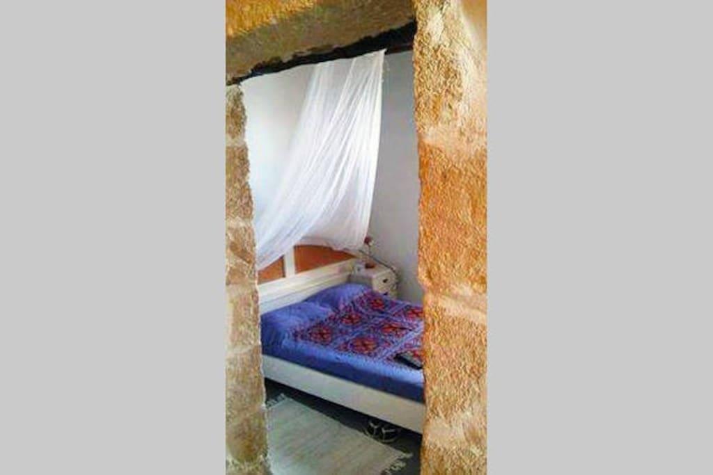 The stone double bedroom
