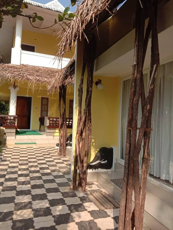 Four bedroom villas near Marari beach