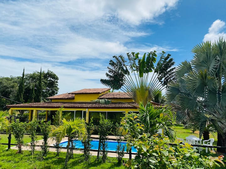 Casa de campo - Fazenda Paraíso (Sul da Bahia)