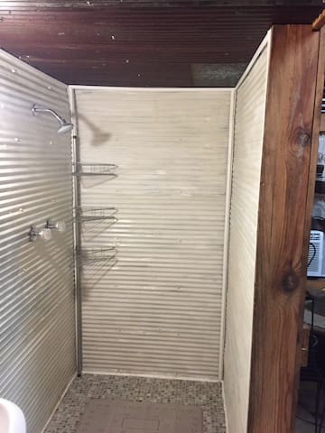 3/4 size shower