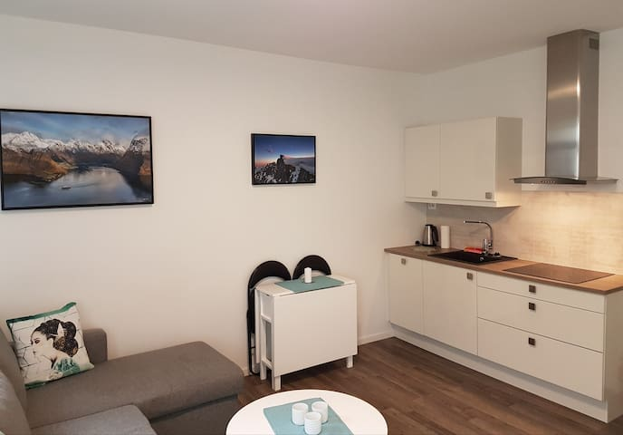 Fresh and comfortable apartment in Lovely Ålesund - Alesund - Apartamento