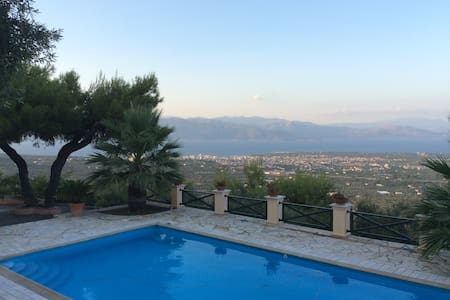 The Olive Hill Villa of Egio - Aigio