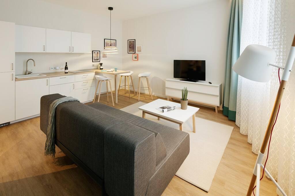 Wohnzimmer Urbis -  Goldkind