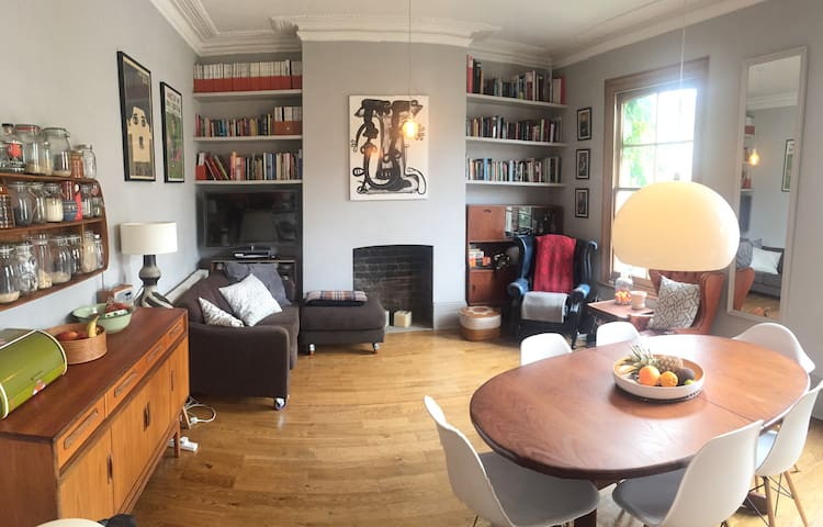 Lovely room in Victorian house in arty Hackney