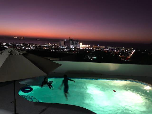 Saipan angel swimming pool ocean view villa NO 2