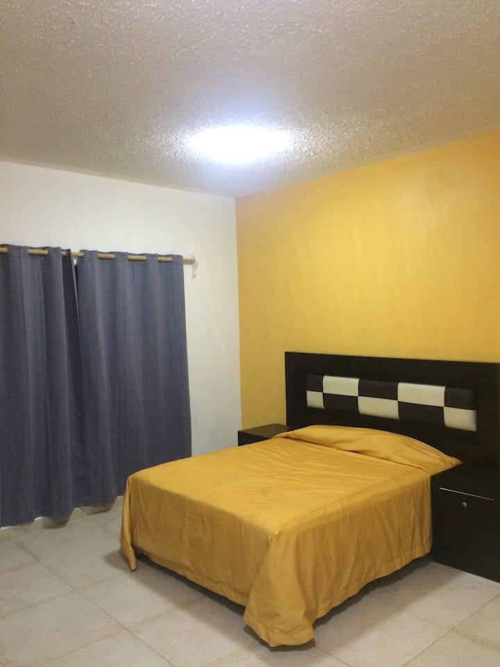 Habitación en Auto Hotel Colibri Palenque Chiapas