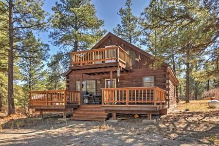 1BR Pagosa Springs Cabin w/Multiple Decks! - Pagosa Springs - Cabane