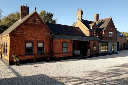 The Guards room, secluded Station House, nr Selby