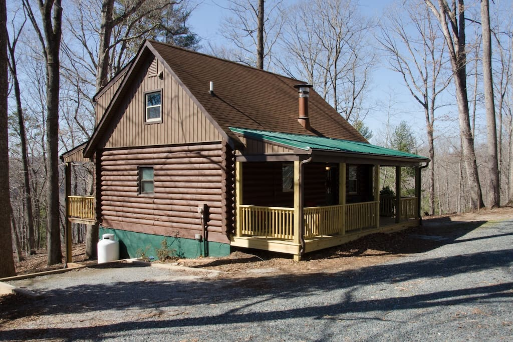 Secluded cabin 7 acres james river cabins for rent in for Madison cabin rentals