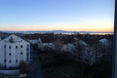 Zimmer mit Balkon und Seesicht - Friedrichshafen