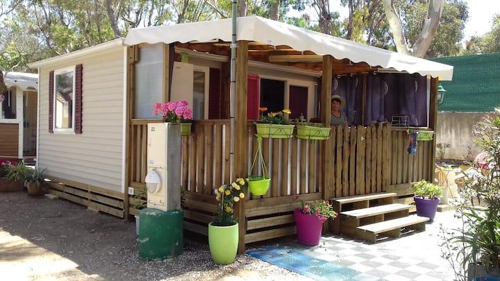 Mobil-Home climatisé Presqu'île de Giens**** 5pers