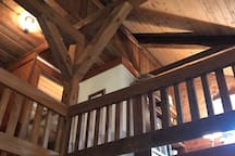 Beautiful Timber Frame Woodwork in Loft!
