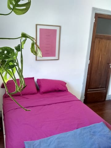 Habitación Privada,cama doble. Excelente ubicación