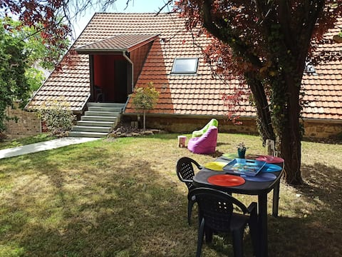 Très beau gîte F2 indépendant avec jardin privé