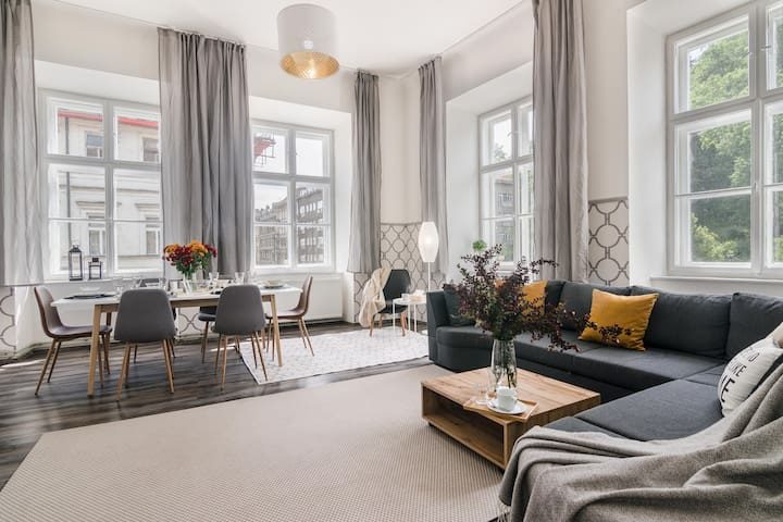 Huge and Cosy Apartment on Prague 1 for 12 people