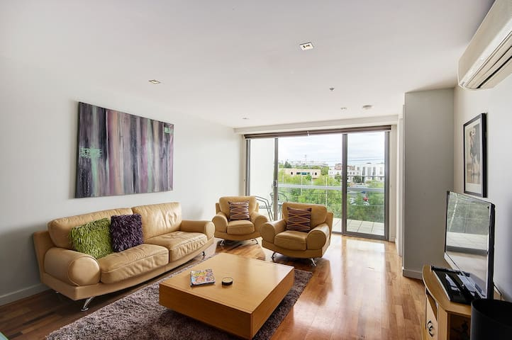 Top of Terminus Apartments - 2 bedroom 2 Bathrooms - Geelong - Huoneisto