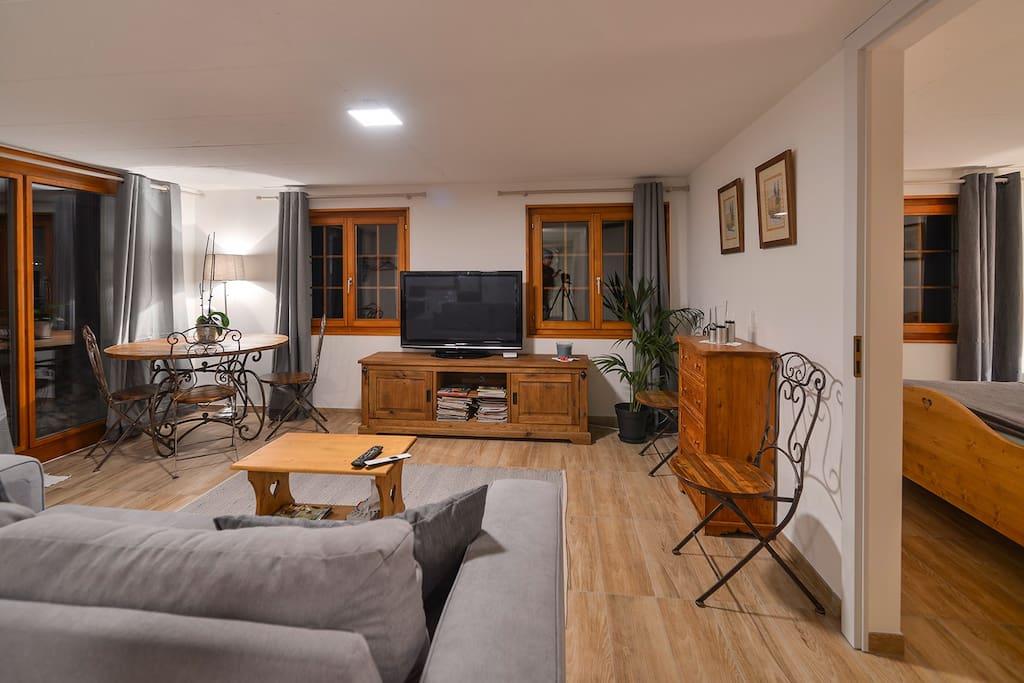 Appartement 2 pi ces appartements louer ormont for Location appartement yverdon suisse