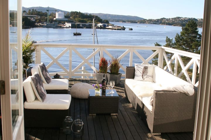 Great apartment in Bergen by the sea