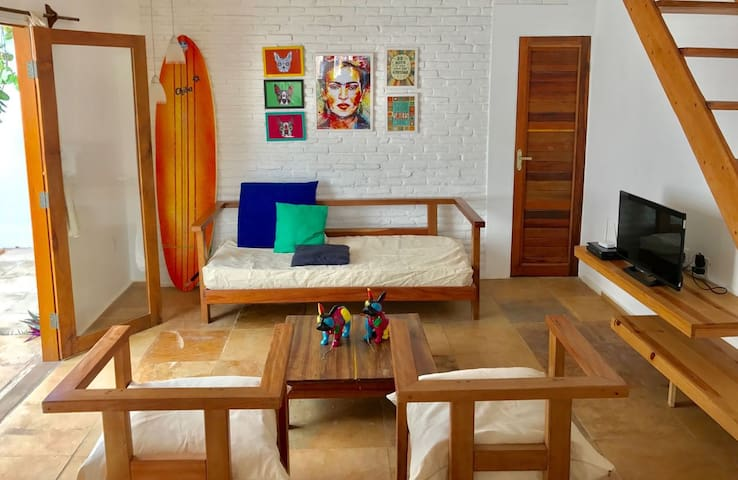 LINDA CASA COM DECORAÇÃO JOVEM E ACONCHEGANTE - Jericoacoara Beach - House
