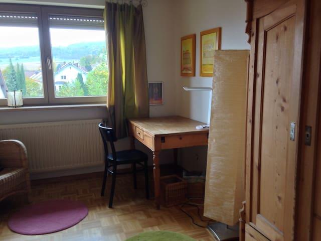 Helles gemütliches Zimmer - Lörrach - Huis