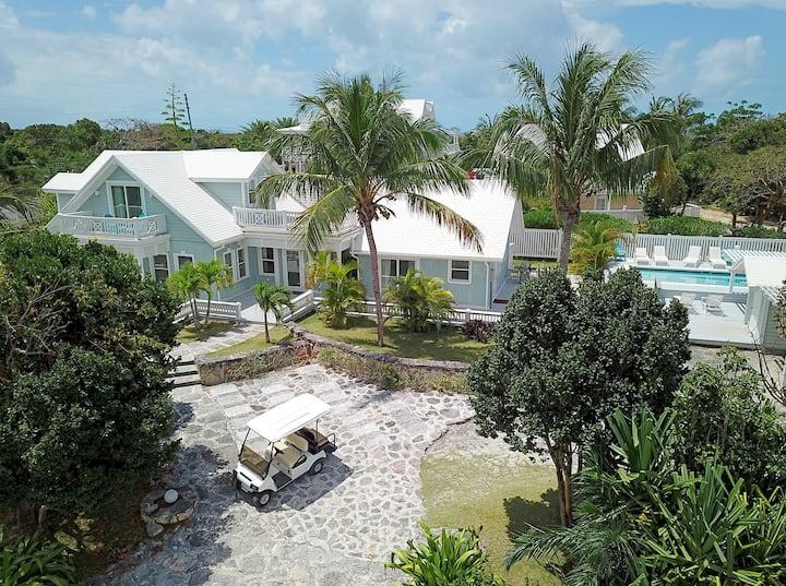 Luxury 3BR 3.5BA w/ Private Pool & Beach Golf Cart