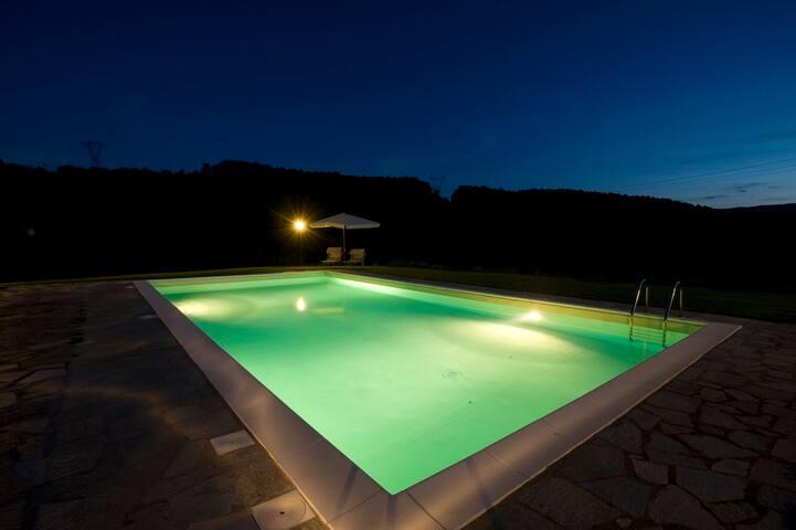 Villa con piscina vicino Firenze - Barberino di Mugello