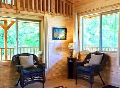 Eagle's Nest Cabin at Earthology Retreat Center