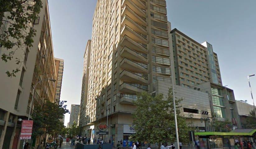Acogedor departamento en Santiago en el piso 13
