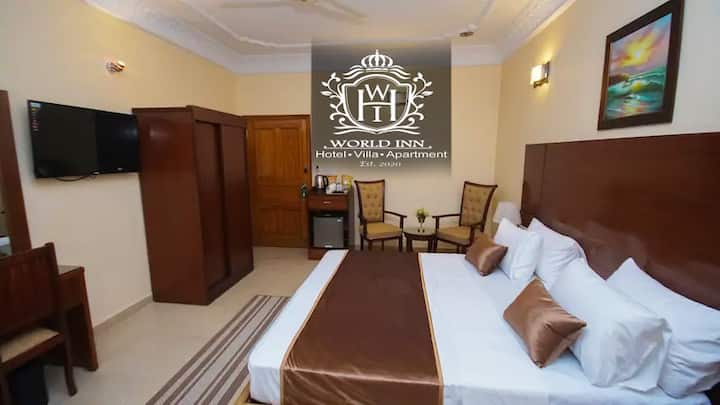 Superior Double Bed Room, World Inn Hotel Karachi