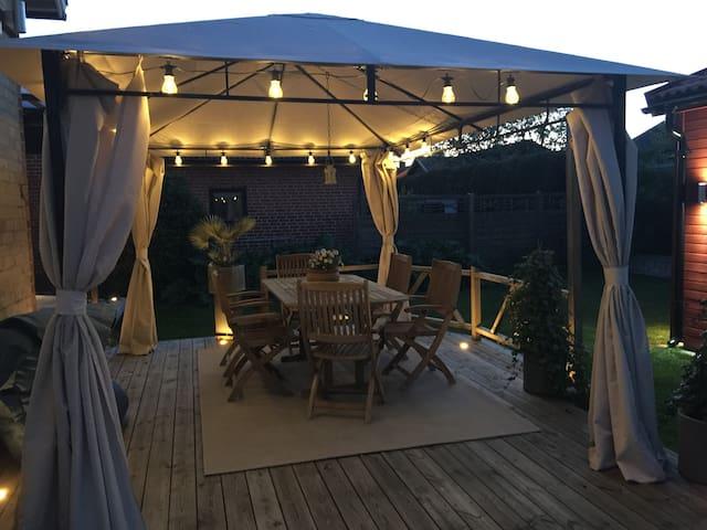 Mysig villa med 2 sovrum i centrala Ystad