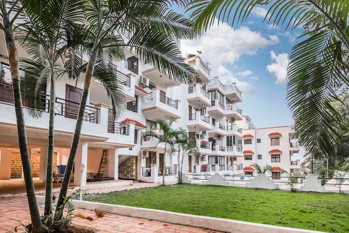 Snazzy 1 BHK with a pool, near Vagator /66924