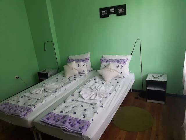 Trakia Bed&Breakfast - double room with shared bat