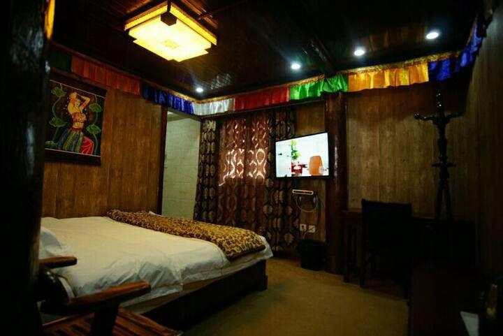 舒适大床房(有暖气)