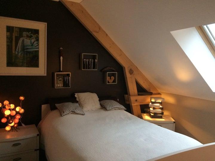 Chambres chez l'habitant, confort, calme et nature