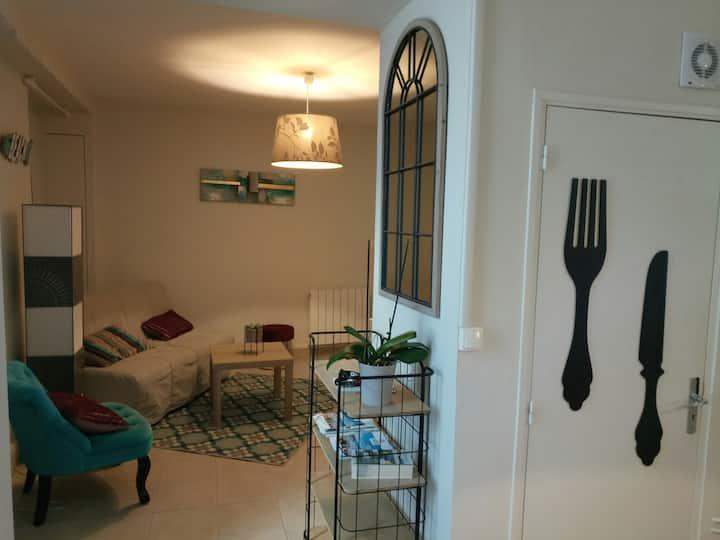 Maison centre Arromanches... accès privé a la mer