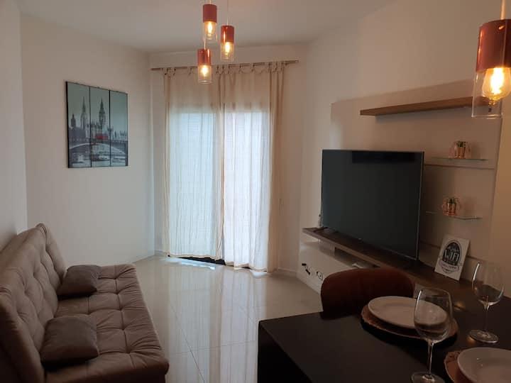 Apartamento/Hotel -  Centro São José - Prox. CTA