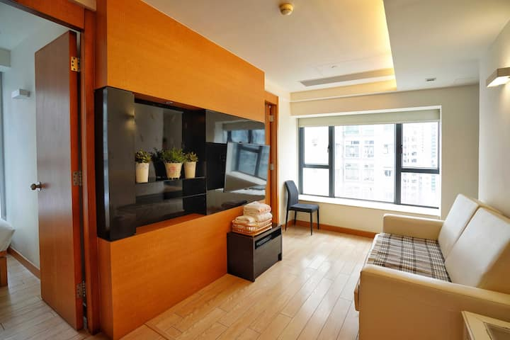 Two Bedroom Serviced Apartment with Sea View