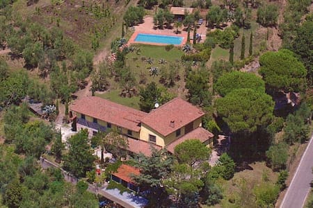 Apartment 1 Toscana,great view,pool,near Firenze - Larciano
