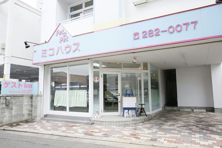 ベッド上段 一人 Bunk bed 1人 Top - Fukuoka - House