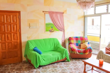 Unique painted apartment! (ROOM II) - Arona
