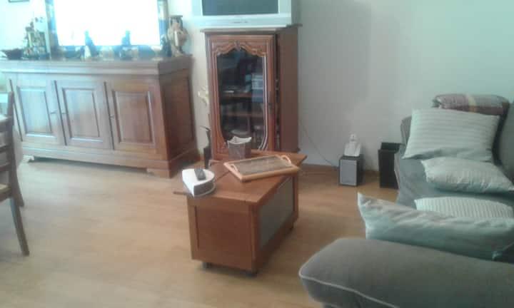 Appartement T2 meublé pour 1 à 2 personnes