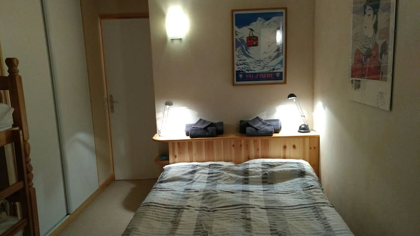 Double Room in Shared Apartment  Val d'Isere - Val-d'Isère - Apartamento