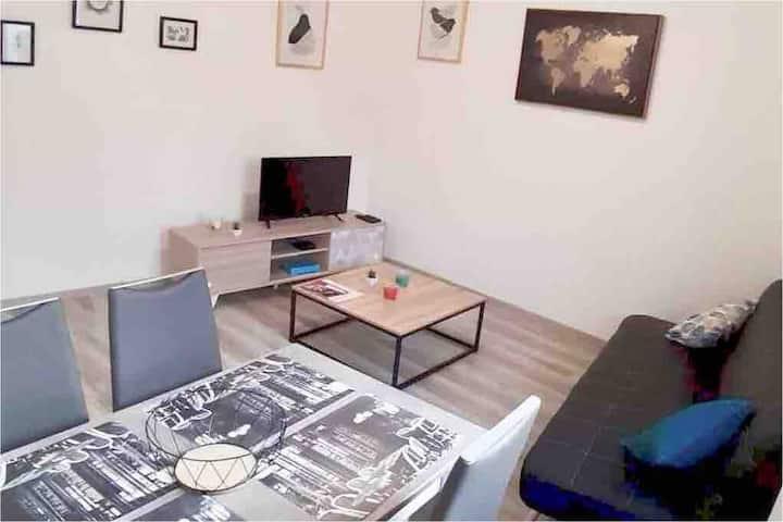 Appartement T2 au Mans - Jardin des plantes