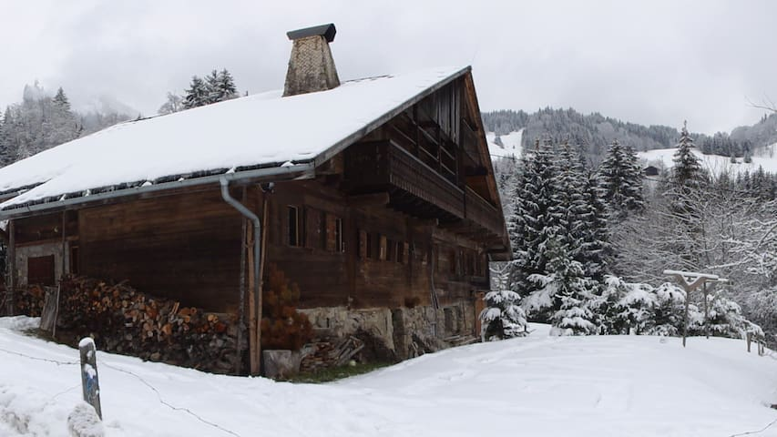 Semi-detached Chalet in Abondance 1100m altitude