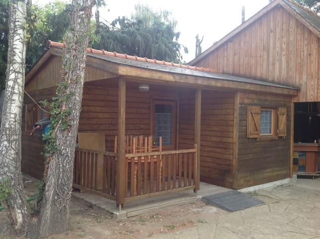 chalet complet avec deux chambres